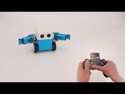 Micro: bit Robot, Coding device for kids via Python
