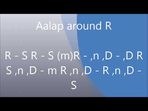 Gorakh Kalyan (राग गोरख कल्याण) Aalap and Vistar Tutorial