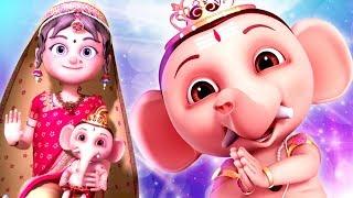 Ganapathi Bappa Morya | Ganesha Song For Kids | Bal Ganesh Dancing | Devotional Songs