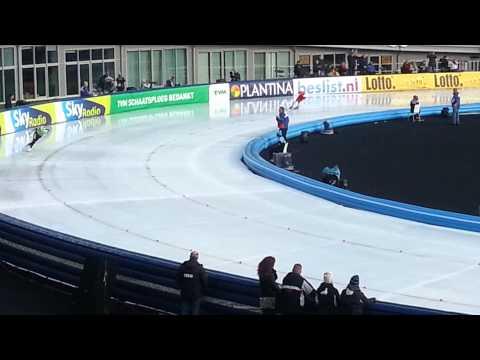 Koen Verweij 1500m NK 2014