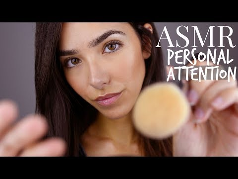 ASMR Closeup Personal Attention + Humming/Soft Singing