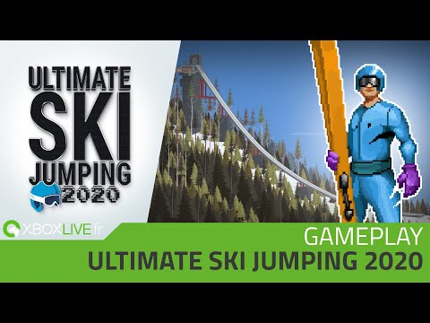 GAMEPLAY Xbox One - Ultimate Ski Jumping 2020