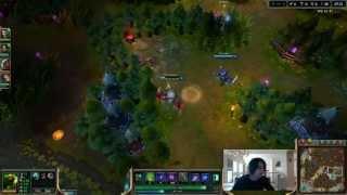 IWillDominate plays Nasus jungle vs Trundle