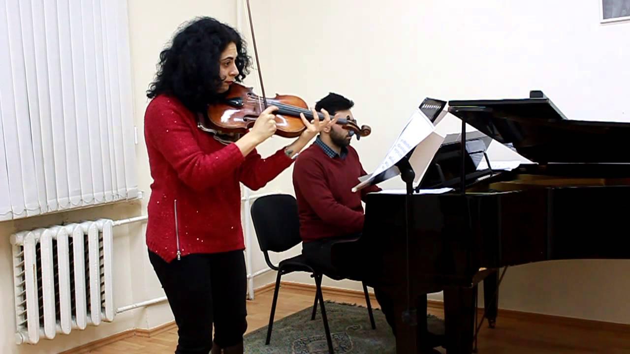 Shervin Mirzeinali Duet for Violin and Piano 2013 - three pieces for violin and piano composer and piano: seyedshervin mirzeinali. violin: Astghik Vardanyan.