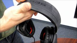 uNBOXING-Logitech G35 7.1 Surround Sound Gaming Headset