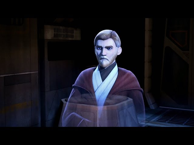 Star Wars Lázadók 1.évad 1.Rész Obi-Wan Kenobi Üzenete