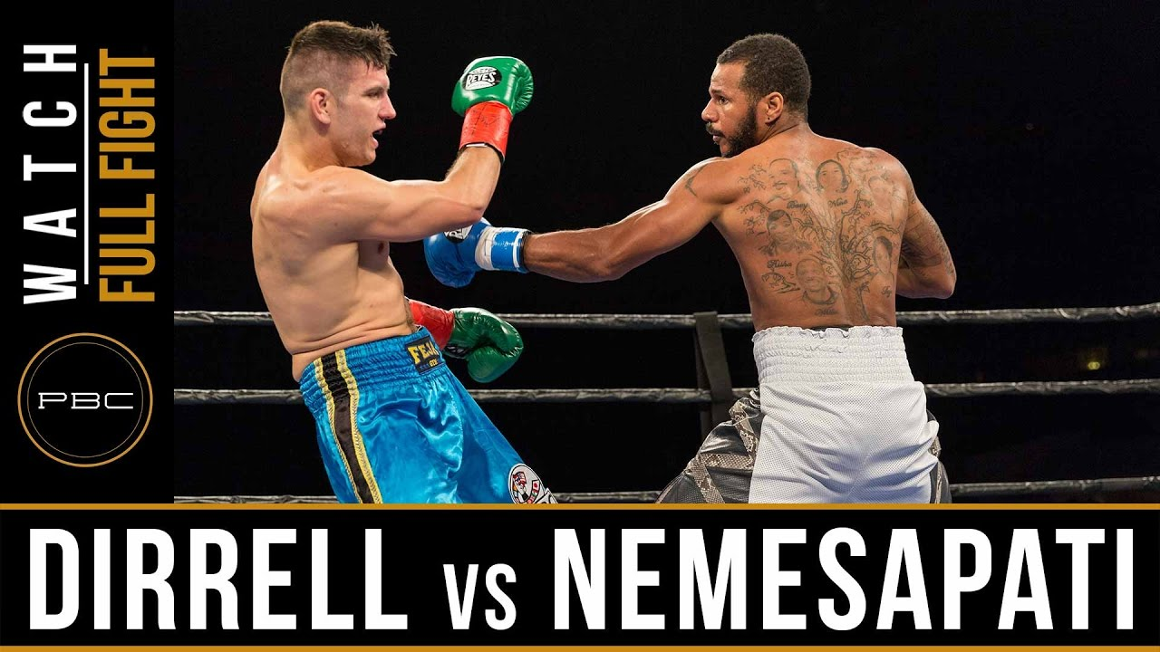 Nemesapati vs Dirrell FULL FIGHT: JANUARY 13, 2017 - PBC on Spike