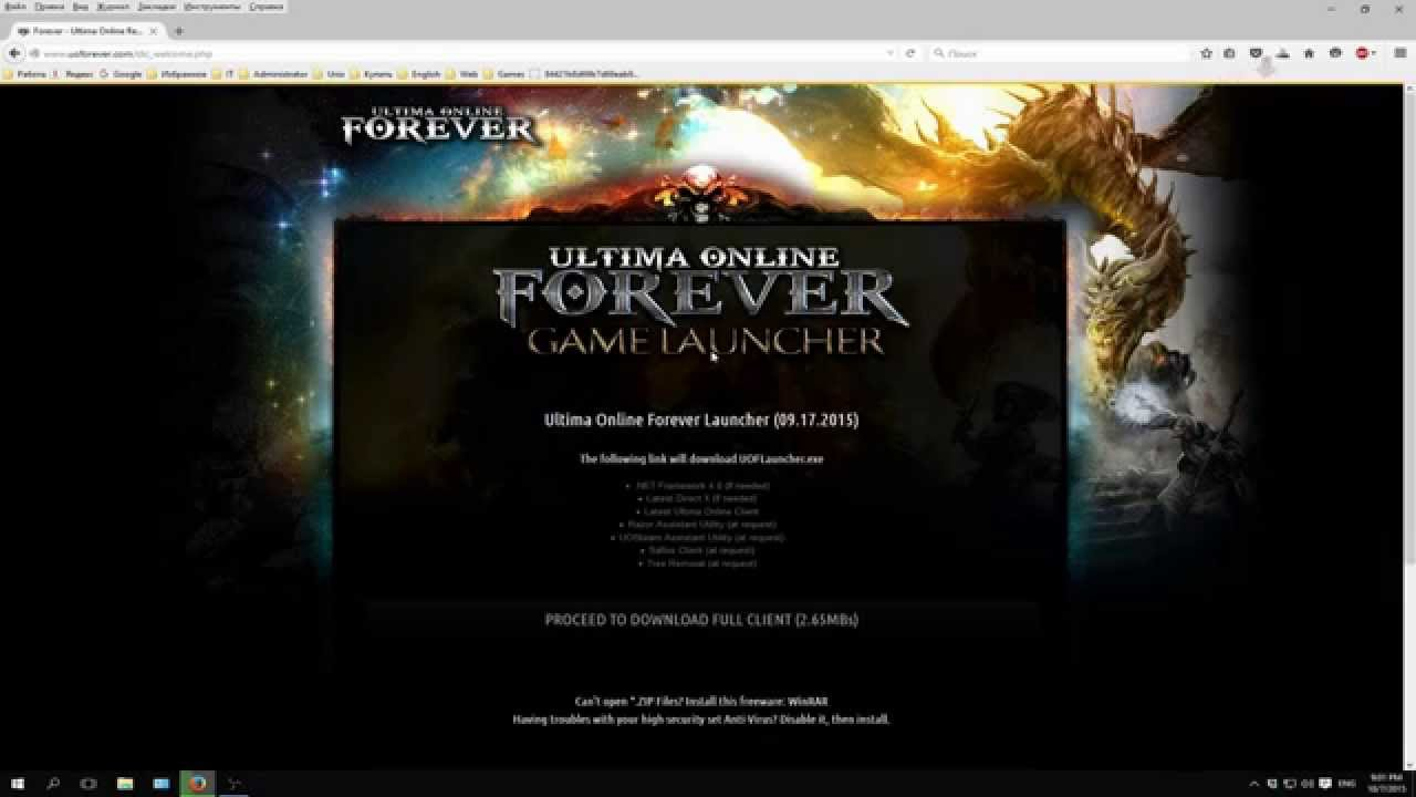 Sallos Update | Page 4 | Ultima Online Forever - Ultima Online