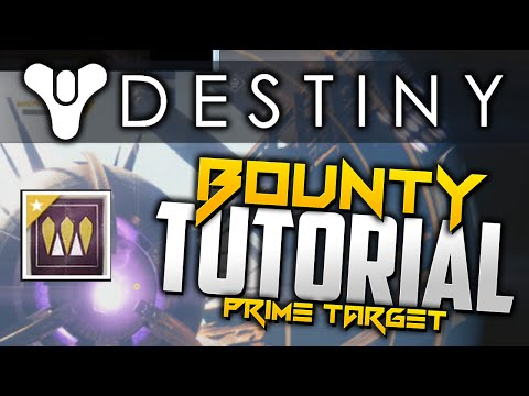 Destiny - Prime Target Bounty Tutorial (SEPIKS PRIME) - Defeat Sepiks Prime, Cosmodrome On Earth