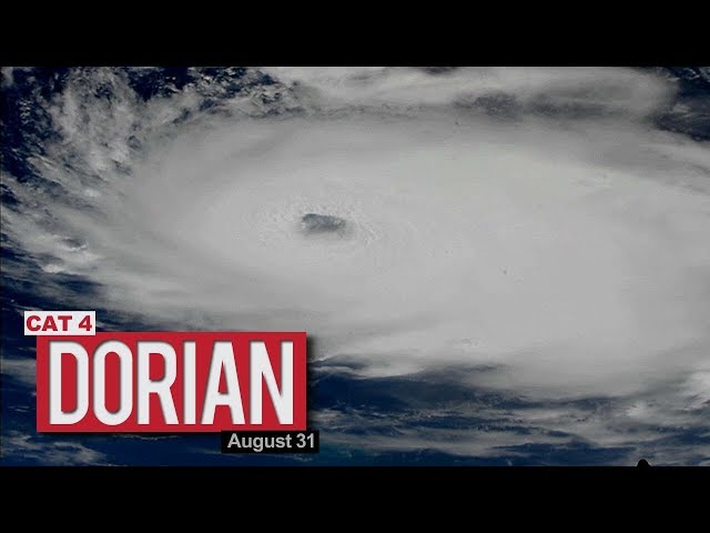 Views of Hurricane Dorian from the International Space Station - August 31, 2019