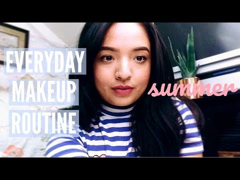 EVERYDAY MAKEUP ROUTINE | Summer 2017 ♡ Cherie Jo