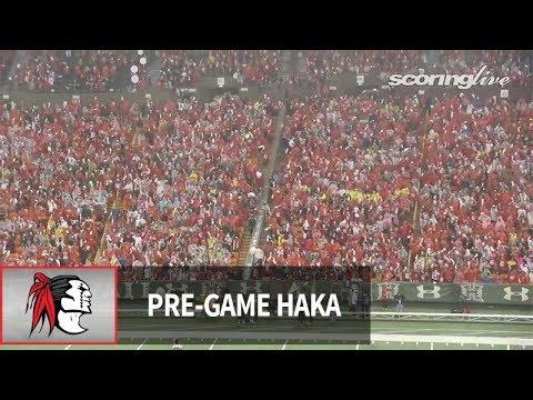 ScoringLive: Saint Louis vs. Kahuku - pregame haka