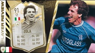 CHEAT CODE! 🤩 91 PRIME ICON MOMENTS ZOLA REVIEW! FIFA 21 Ultimate Team