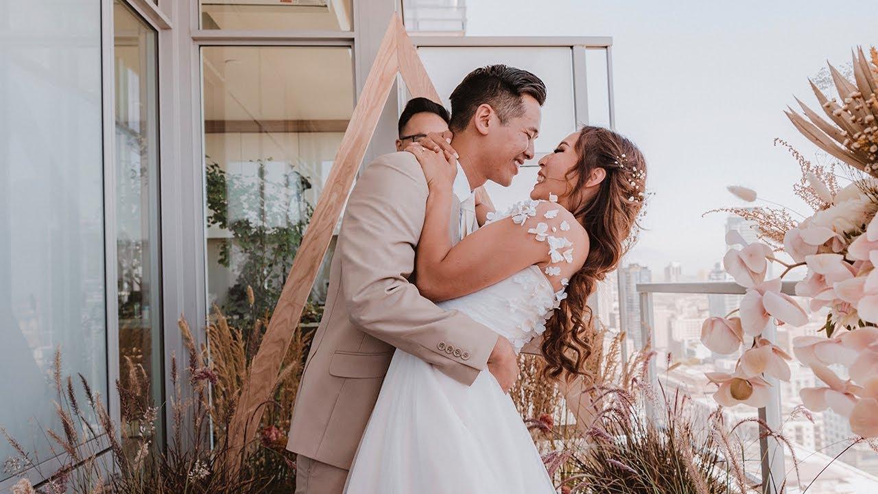 Our Home Wedding | Jonathan & Anh