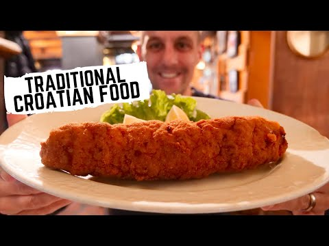 Traditional CROATIAN FOOD in Zagreb, Croatia | DELICIOUS Croatian food the LOCALS are eating