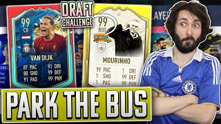 PARK THE BUS *99 IKONA MOURINHO* DRAFT CHALLENGE! FIFA 20