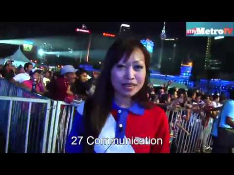 Histeris 70 000 penggemar zivilia di Kuala Lumpur by 27communication