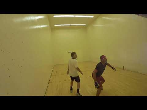 2018 Masters Singles Rick Leonard vs. Ryan Grossenbacher