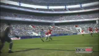 PES 2011 E3 2010 Trailer - Gameplay HD