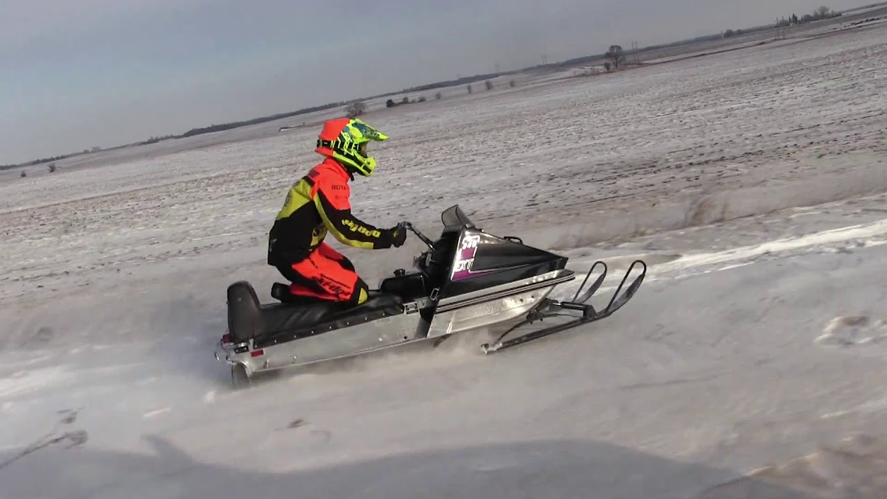 1971 Arctic Cat Ext 340 Test Riding Youtube
