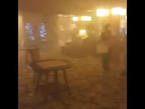 Gatlinburg Tn Fire Park Vista Hotel Youtube