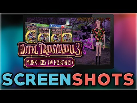 Hotel Transylvania 3: Monsters Overboard   Screenshots & INFO