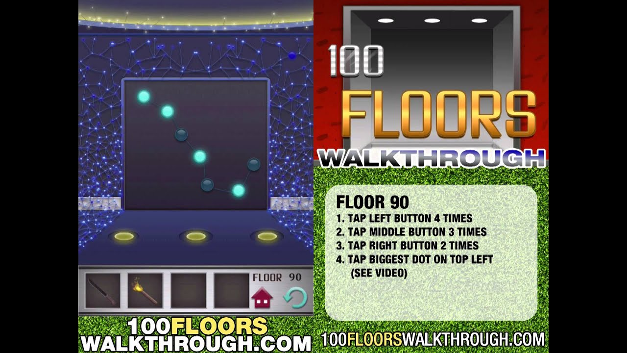 Floor 90 Walkthrough 100 Floors Walkthrough Floor 90
