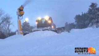 Final Touches- Turkey Ridge- Sundown Mountain Resort-