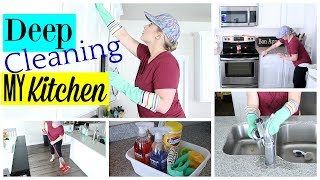 HOW TO DEEP CLEAN YOUR KITCHEN| HACKS & TIPS| Fancy That with Candice