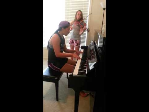 Say Something by A Great Big World Piano and Violin Cover