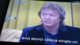 Chris' interview - partial - by National 24 Plus - Romanian TV station
