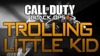 Black Ops 2: Little Kid Has Intercourse Daily! Hilarious XBL Troll!