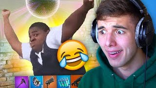 LAUGH = DELETE FORTNITE ACCOUNT (YLYL CHALLENGE)