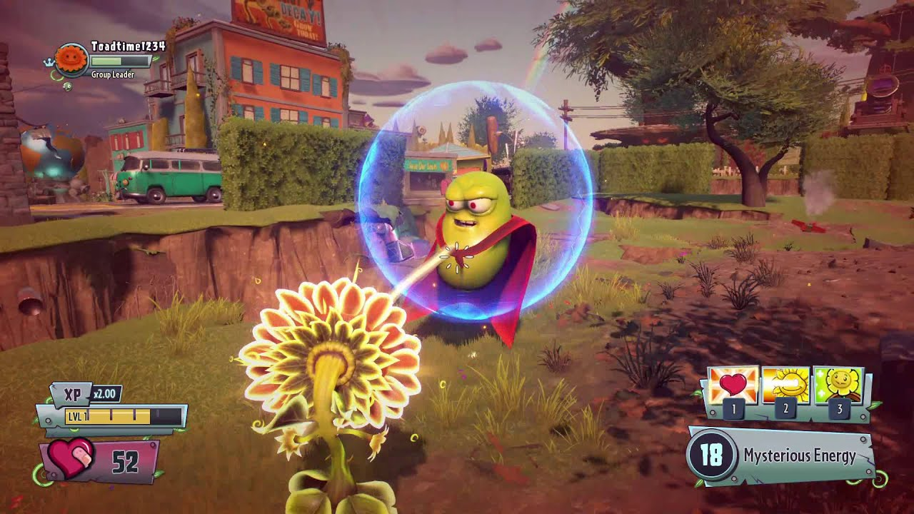 Plants vs Zombies Garden Warfare 2 (Super Bean Boss Showcase) - YouTube