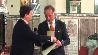 Aris Spada Commendatore dell'Ordine della Stella d'Italia