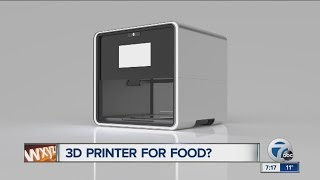 Foodini Is A 3D Printer For Food