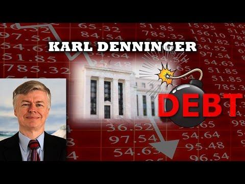 US Deficit Could Bankrupt Us Before Deutsche Bank Collapse - Karl Denninger Interview