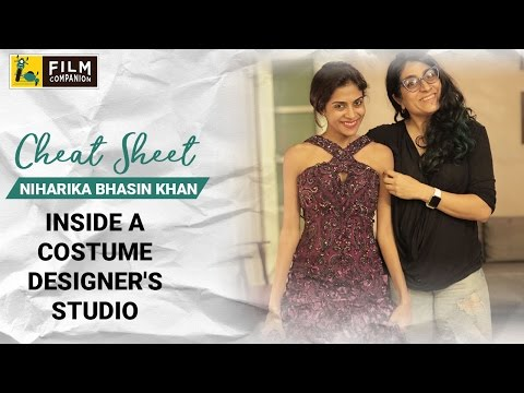 Inside A Costume Designer's Studio | Niharika Bhasin Khan | Cheat Sheet