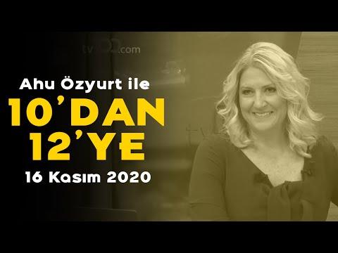 Ahu Özyurt ile 10'dan 12ye - 16 Kasım 2020 - Serkan Toper, Yiğit Acar,