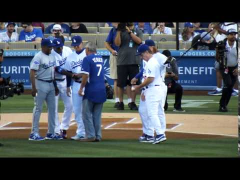 Los Angeles Dodgers Old Timers Game