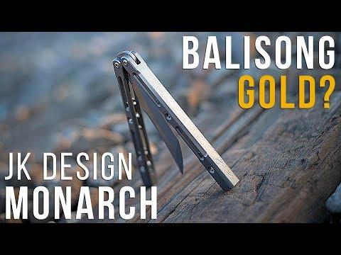 THE BEST BALISONG? - JK Design Monarch - PakVim net HD