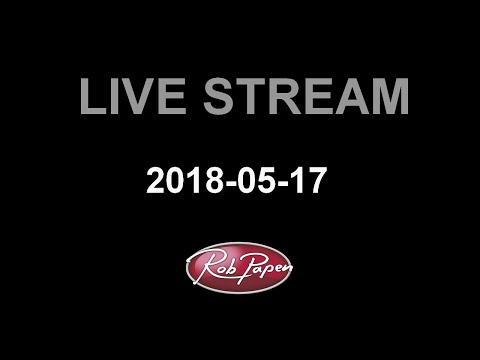 Rob Papen Live Stream 17 May 2018 Go2 and Predator2