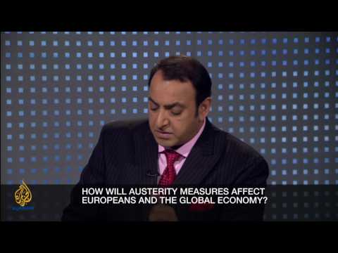 Riz Khan - Europe's age of austerity