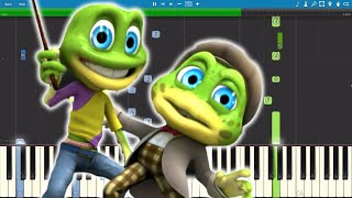 The Crazy Frogs The Ding Dong Song - Piano Cover Remix - Tutorial.mp3