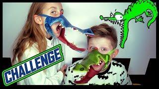 Dziwny CHALLENGE - Gra Głodne Krokodyle!