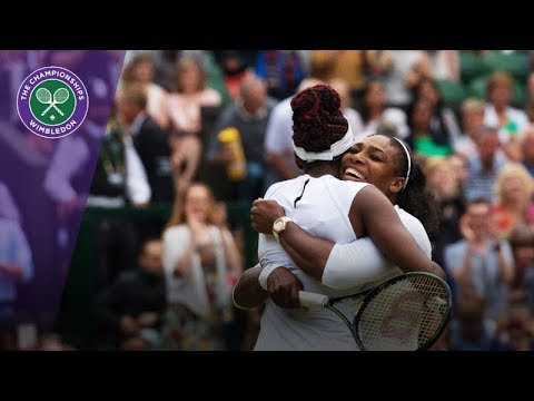 Serena and Venus Williams' best Wimbledon shots