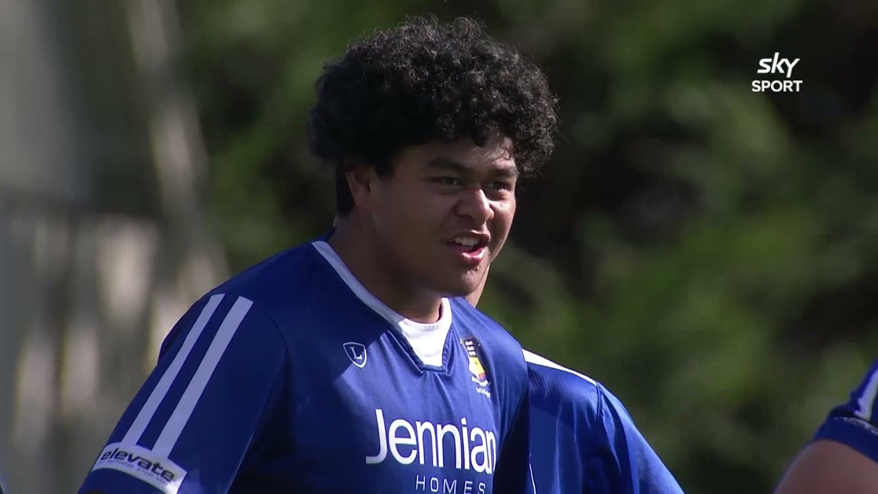 Secondary Schools Rugby: St Pat's Silverstream v St Pat's Town (Full Match)