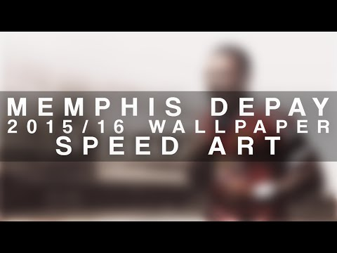 Memphis Depay 2015/16 Wallpaper Speed Art