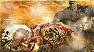 Attack on Titan 2 Final Battle - Beast Titan VS Armored Titan (Full Fight)