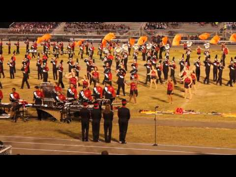 Bloomingdale High School Rajun' Bull Marching Band - 2016 FBA MPA